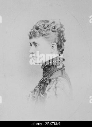 Hélène Standish (1847-1933) B. - Stock Photo