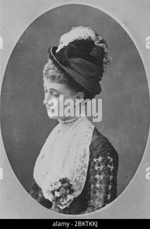 Hélène Standish (1847-1933) A. - Stock Photo