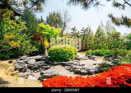 Hyowon Park Wolhwawon Chinese traditional garden in Suwon, Korea
