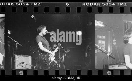 Elastica live at the Zap Club in Brighton.  6th September 1994 Photography James Boardman - Stock Photo