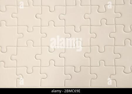 copy space and plan white puzzle surface for textured backgroung and abstracted wallpaper.