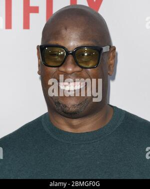 Andre Harrell arrives at THE BLACK GODFATHER World Premiere held at the Paramount Theater in Los Angeles, CA on Monday, June 3, 2019. (Photo By Sthanlee B. Mirador/Sipa USA) - Stock Photo
