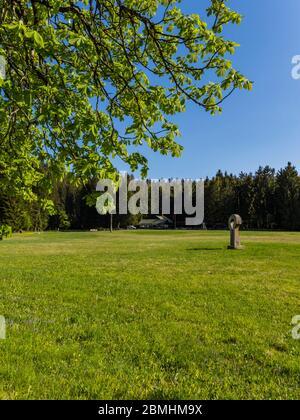 Preserved forest resort Golubinjak near Lokve Croatia Europe - Stock Photo