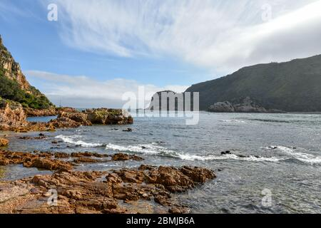 Knysna Heads is one of the top tourist attractions located on the Garden Route, South Africa
