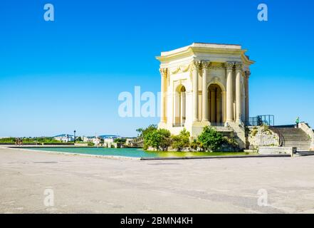 France Montpellier August 2016 Saint Clement Aqueduct in Montpellier - Stock Photo