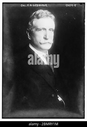 Col. C.E. Lydecker (LOC) by The Library of Congress - Stock Photo