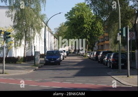 Die Borkzeile im Spandauer Ortsteil Klosterfelde wurde 1889 angelegt und trägt seinen Namen seit dem 21.01.1961.