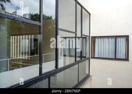 Maison la Roche, Paris - Architect: Le Corbusier - Stock Photo