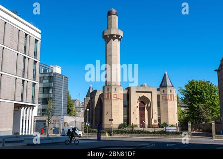 Edinburgh Central Mosque on Potterrow, Newington, Edinburgh, Scotland, UK - Stock Photo