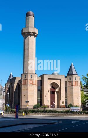 Edinburgh Central Mosque on Potterrow, Newington, Edinburgh, Scotland, UK - Stock Photo