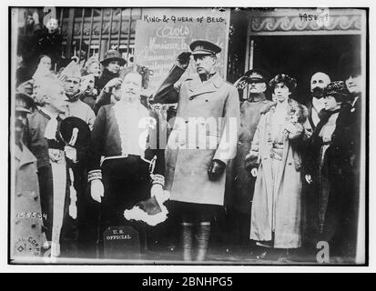 King & Queen of Belg. [i.e. Belgium] (LOC) by The Library of Congress