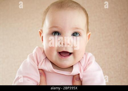 Close up of baby mouth with a suckling blister Stock Photo ...