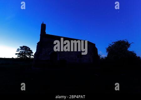 St Mary's Chapel - Lead - Tadcaster,UK - Stock Photo