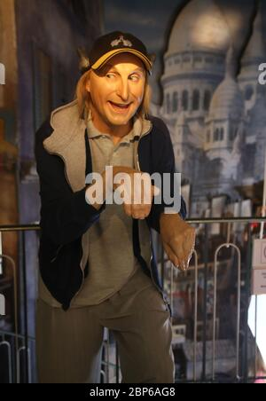 Waxworks Cabinet at the Panoptikum Hamburg - Stock Photo