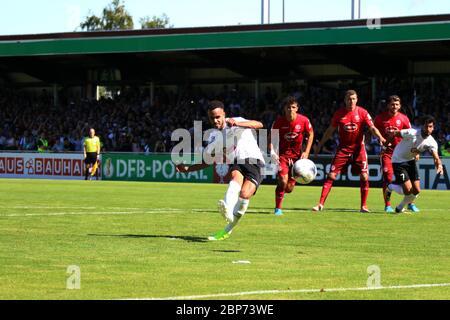 DFB-Pokal 19/20 1 HR: FC 08 Villingen - Fortuna Düsseldorf Stock Photo