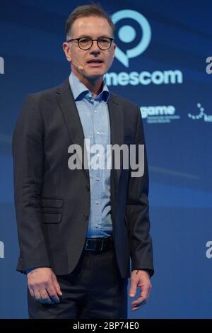 Eroeffnung der Computerspielemesse 'Gamescom 2019' in der Messe Koeln - Stock Photo