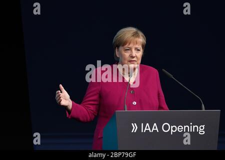 Eroeffnung der Internationalen Automobil-Ausstellung IAA 2019 auf dem Messegelaende Frankfurt am Main am 12.09.2019