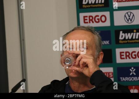 DFB-Pokal 19/20 2 HR: SC Freiburg - FC Union Berlin Stock Photo