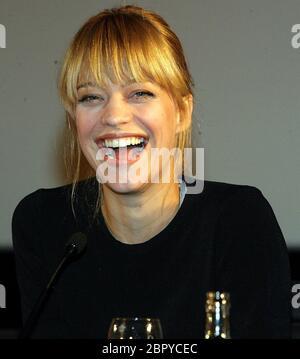 'HUI BUH - Das Schlossgespenst' Presse-Preview in Köln - Pressekonferenz mit der deutschen Schauspielerin Heike Makatsch. - Stock Photo
