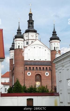 Monastery of the Annunciation in Supraśl, Białystok County, Podlaskie Voivodeship, Poland - Stock Photo