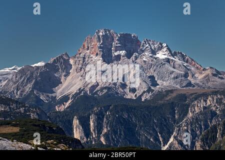 Croda Rossa d'Ampezzo - Stock Photo