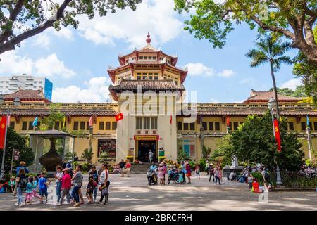 Vietnam History Museum, Ho Chi Minh City, Vietnam, Asia - Stock Photo