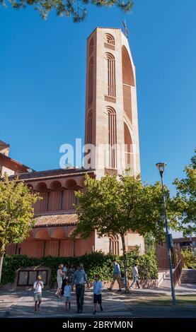 Iglesia de Santa María de Caná. Pozuelo de Alarcón. Madrid. España - Stock Photo