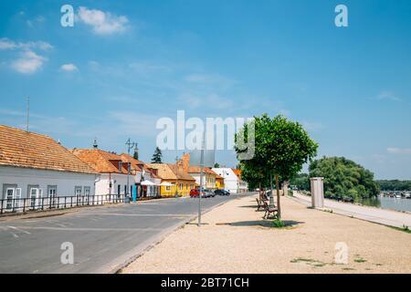 Szentendre riverside old village in Hungary - Stock Photo