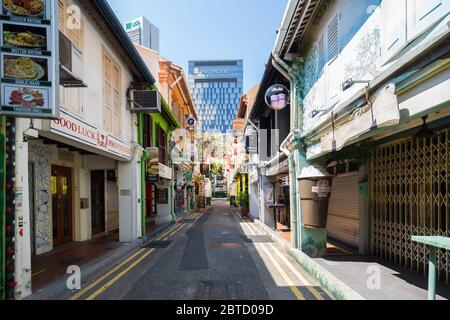 Covid-19 heavily impact the tourists retail sector at Haji Lane which require to shut doors for 2 months, Singapore