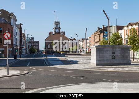 The High Street,Stockton on Tees,England,UK - Stock Photo