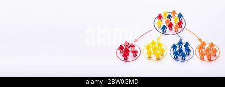 Market Segment And Customer Audience. High Sale People - Stock Photo