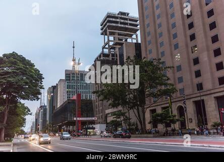 Sao Paulo, Brazil, Paulista Av