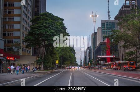 Sao Paulo, Brazil, Paulista Avenue