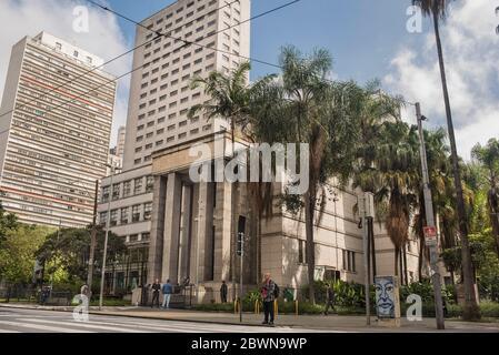 Municipal Library of the Sao Paulo city