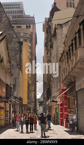 Sao Bento Street, Sao Paulo, Brazil
