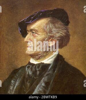 RICHARD WAGNER (1813-1883) German operatic composer