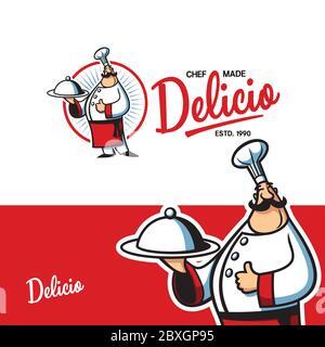 Chef Character Logo