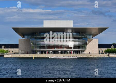 Copenhagen Opera House, Operaen, Copenhagen, København, Denmark, Europe - Stock Photo