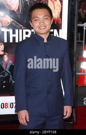 Shaobo Qin at the Los Angeles Premiere of 'Ocean's Thirteen' held at the Mann Grauman's Chinese Theater in Hollywood, CA. The event took place on Tuesday, June 5, 2007. Photo by: SBM / PictureLux - File Reference # 34006-6428SBMPLX - Stock Photo
