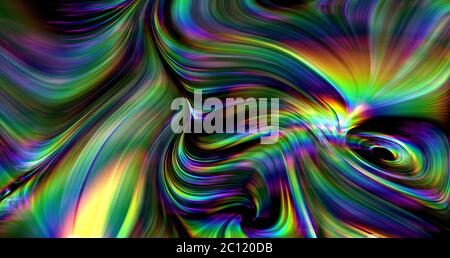 colorful dynamic trippy psychedelic background
