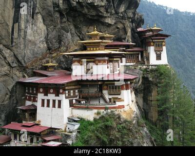 Taktsang lakhang monastery - Stock Photo