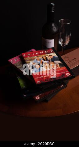 Collection of Friends DVDs. The hugely popular sitcom has recently been criticised for it lack of racial diversity in the light of the BLM campaign.