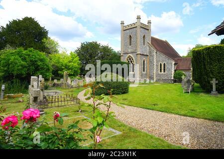 The church at Remenham - Stock Photo