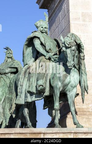 Chieftains of Hero's Square, Budapest