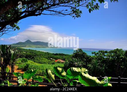 View, From Tamatorizak, Ishigaki, Yahema Islands, Okinawa, Japan