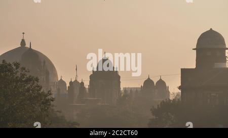 The domes of the buildings in Mumbai. India.