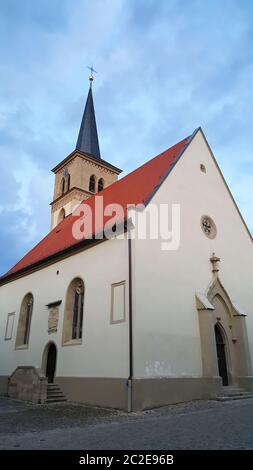 Iphofen is a city in Bavaria with many historical sights. Blutskirche