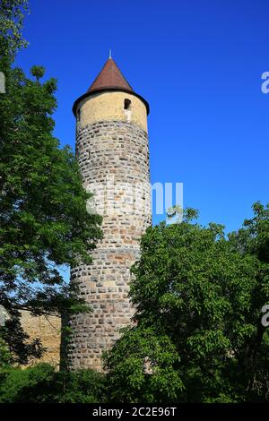Iphofen is a city in Bavaria with many historical sights. Eulenturm