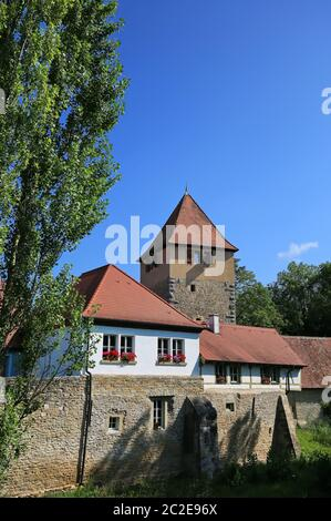 Iphofen is a city in Bavaria with many historical sights. Zentturm