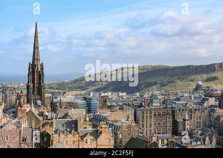 Edinburgh capital city of Scotland Great Britain UK